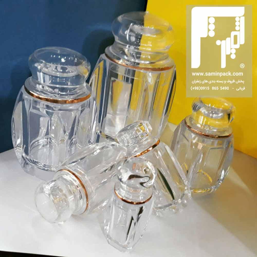 قیمت انواع ظروف پلاستیکی زعفران