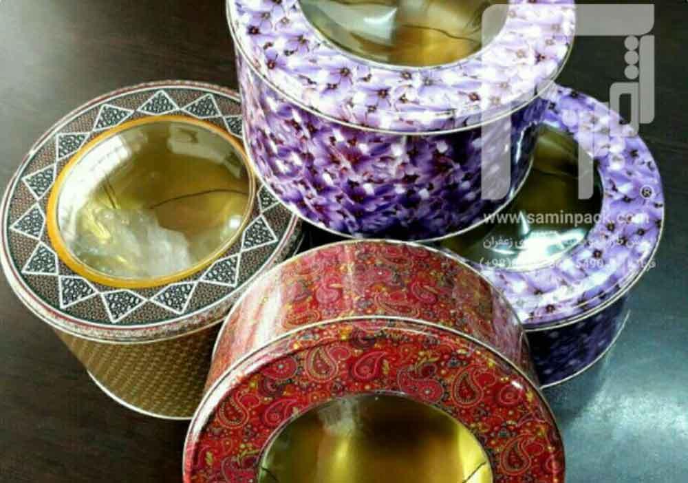 صادرات ظروف بسته بندی استاندارد فلزی زعفران