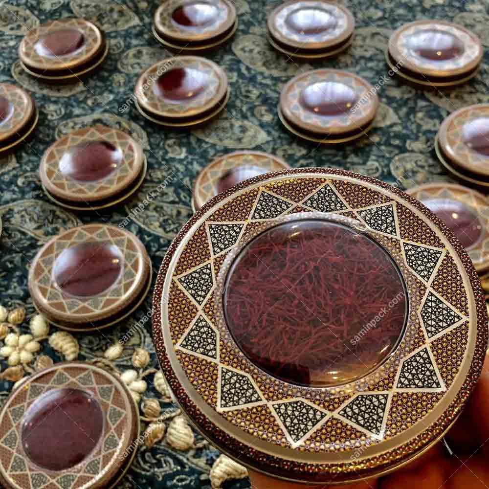 خرید آنلاین ظروف بسته بندی زعفران بادوام
