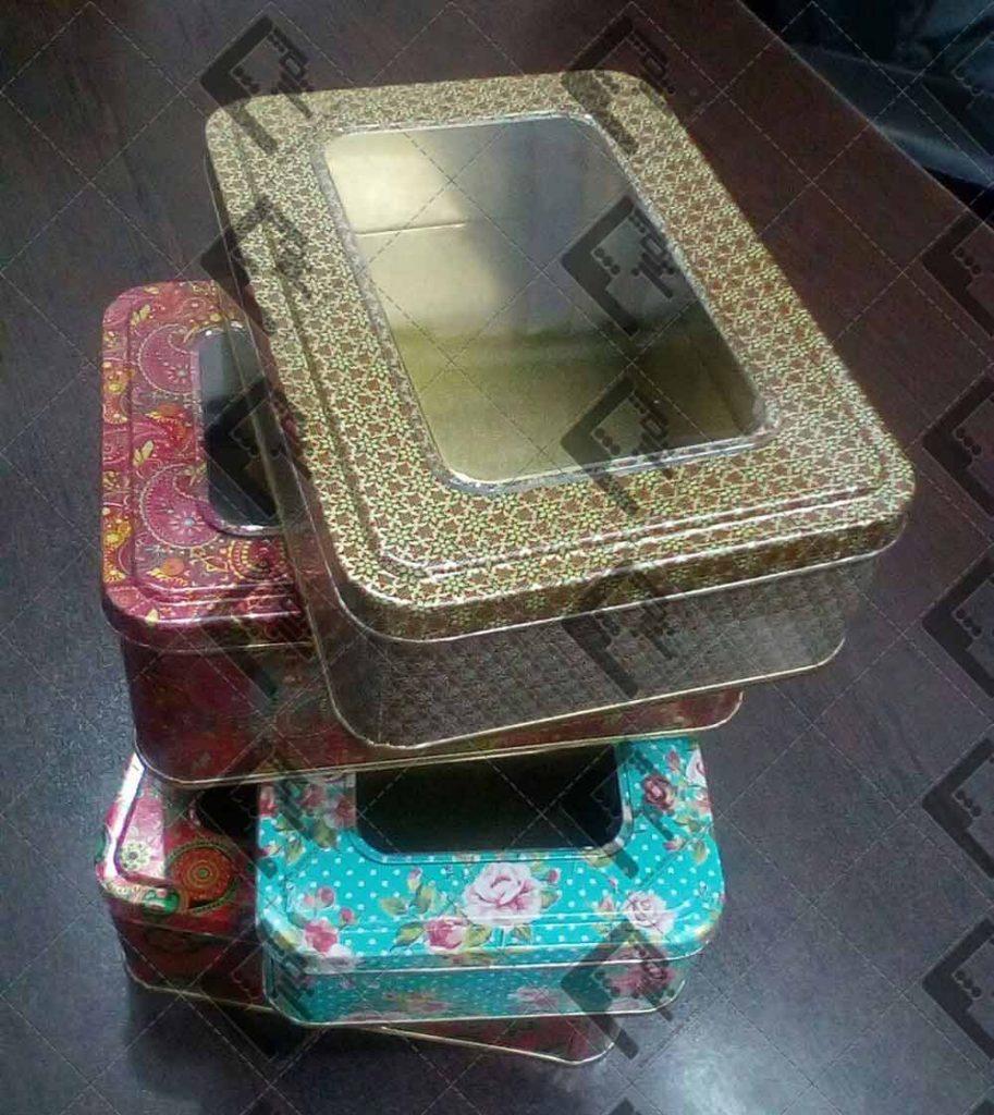 قیمت تولید انواع ظروف بسته بندی زعفران