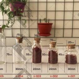 انواع ظروف بسته بندی صادراتی زعفران
