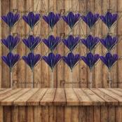 شاخه تک گل زعفران مصنوعی