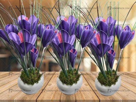 خرید گل مصنوعی یا ماکت زعفران
