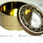 خاتم فلزی ۱۲ ارتفاع ۵ (۲۰ گرم)