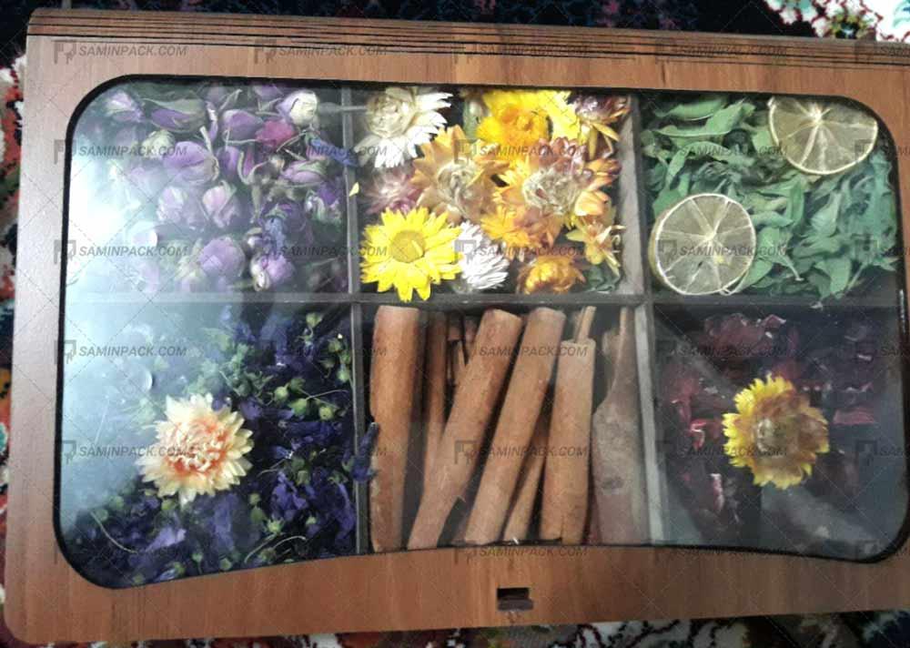 خرید جعبه چوبی برای دمنوش