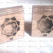 جعبه چوبی خاتم ( ۳ گرم )