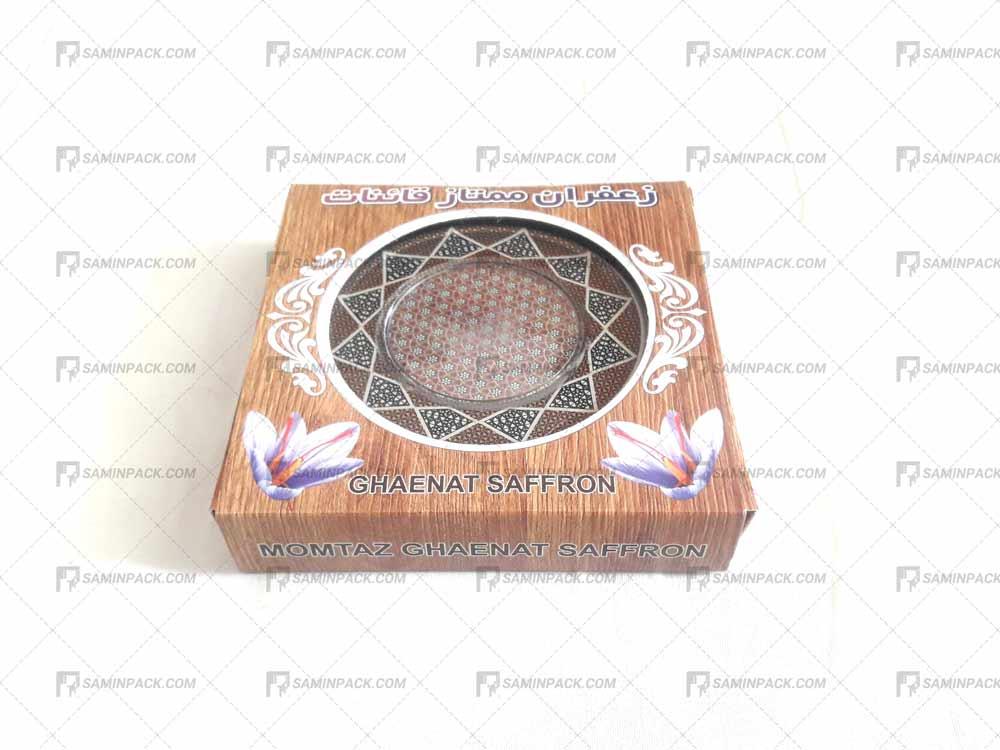جعبه مقوایی خاتم 10 گرم ( 2 مثقالی)