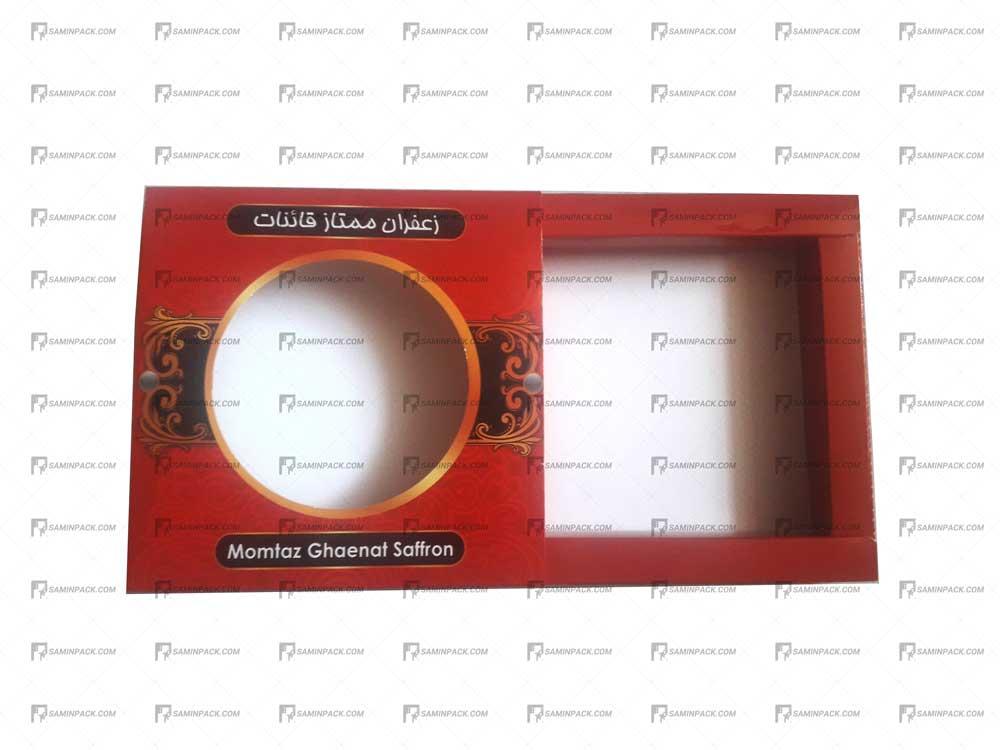 جعبه مقوایی خاتم ۱۰ گرم ۲ طرفه ( ۲ مثقالی)