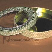 خاتم فلزی ۲۳ ارتفاع ۲ (۸۰ گرم)
