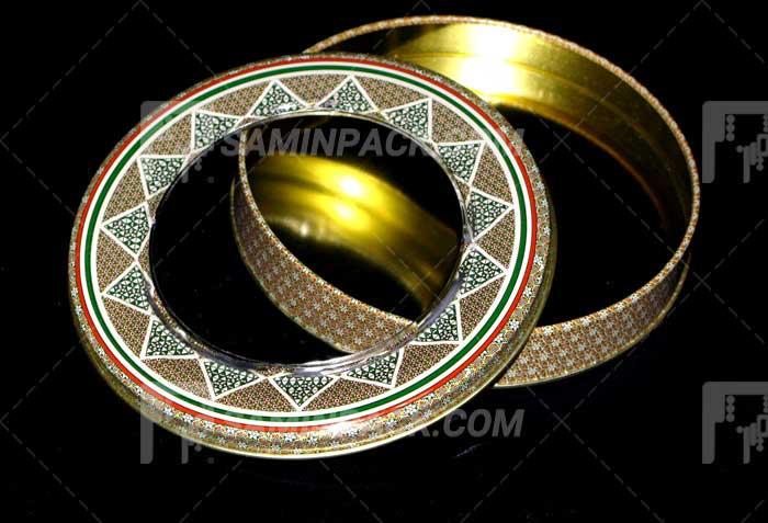 خاتم فلزی 23 ارتفاع 3 (100 گرم نگین)